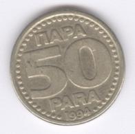 YUGOSLAVIA 1994: 50 Para, KM 163 - Jugoslawien