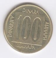 YUGOSLAVIA 1989: 100 Dinara, KM 134 - Yugoslavia