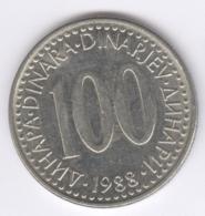 YUGOSLAVIA 1988: 100 Dinara, KM 114 - Jugoslawien
