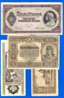 Hongrie  8  Billets - Hongarije