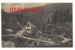 CPA - Route De Flumet - Tournant De Flond ( Canton De Ugine 73 Savoie ) N° 1173 - Phot.-Edit. Pittier à Annecy - Ugine