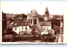 45 CHATILLON COLIGNY - Vue Générale, L'église - - Chatillon Coligny
