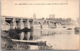 45 BEAUGENCY - Le Pont, La Tour & Clocher Saint Firmin. - Beaugency
