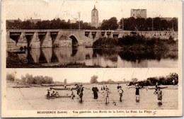 45 BEAUGENCY - Les Bords De Loire & La Plage - Beaugency