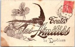45 DORDIVES - Carte Souvenir, Amitiés De Dordives. - Dordives
