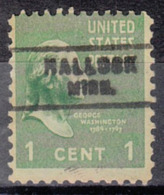 USA Precancel Vorausentwertung Preo, Locals Minnesota, Hallock 744 - Vereinigte Staaten