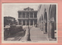 OLD POSTCARD - ITALY - ITALIA -  RIMINI - TRAM -TEATRO - Rimini
