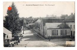 03354-LE-51-Arcis-le-Ponsart-Rue Beauregard--------------voitures - France