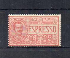 Italia - Regno - 1903 - Espresso Da 25 Centesimi - Nuovo ** - (FDC18411) - 1900-44 Victor Emmanuel III.