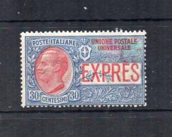 Italia - Regno - 1908 - Espresso Per L'Estero Da 30 Centesimi - Nuovo ** - (FDC18412) - 1900-44 Victor Emmanuel III.