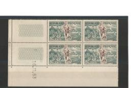 France 1953 Coin Daté N°961**  16/11/53  Athlétisme - 1950-1959