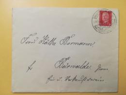 1931 BUSTA GERMANIA DEUTSCHE REICH BOLLO PAUL VON HINDENBURG ANNULLO NEUSTETTIN OBLITERE' GERMANY - Germania