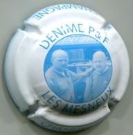 CAPSULE-CHAMPAGNE DENIME P. &  F. N°03 Blanc & Bleu - Sonstige