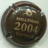 CAPSULE-CHAMPAGNE COLLET N°07a Millésime 2004 - Autres
