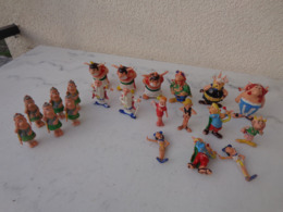 21 Figurines Huilor De La Série Astérix Et Obélix, Certaines Par Multiple - Astérix & Obélix
