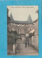 Villeloin ( Indre-et-Loire ). - Porte De L'ancienne Abbaye. - Francia