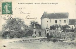 MARCILLAT - Ancien Château De Saint Georges. - Andere Gemeenten