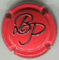 CAPSULE-CHAMPAGNE BERTHELOT-PIOT N°10 Estampée Rouge & Noir - Autres