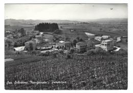 1223 - SAN SALVATORE MONFERRATO PANORAMA ALESSANDRIA 1952 - Alessandria