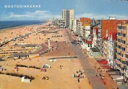 Oostduinkerke Zeedijk En Strand - DIgue Et Plage - Oostduinkerke
