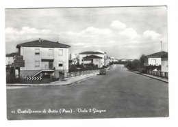 1226 - CASTELFRANCO DI SOTTO PISA VIALE 2 GIUGNO 1950 CIRCA - Pisa