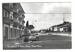 1227 - CASTELFRANCO DI SOTTO PISA VIALE ITALIA 1950 CIRCA - Pisa