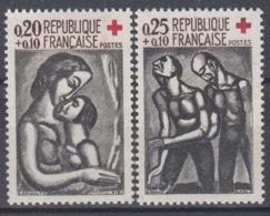 +France 1961. Croix Rouge. Yvert 1323-24. Neufs. MNH(**) - France