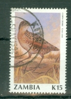 Zambia: 1990/91   Birds (Series 2)    SG635   K15     Used - Zambia (1965-...)