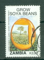 Zambia: 1991   Soya Promotion Campaign    SG652   K2     Used - Zambia (1965-...)