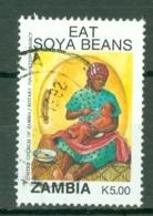 Zambia: 1991   Soya Promotion Campaign    SG653   K5     Used - Zambia (1965-...)