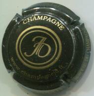 CAPSULE-CHAMPAGNE DESRUETS J. N°16b Noir & Or - Autres
