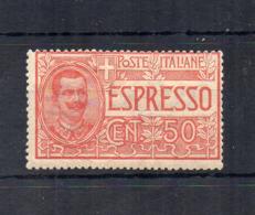Italia - Regno - 1920 - Espresso Da 50 Centesimi - Nuovo ** - (FDC18414) - 1900-44 Victor Emmanuel III.