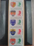Carnet, Union Des Philatelistes Des PTT, 21-22 Avril 1989 - Commémoratifs