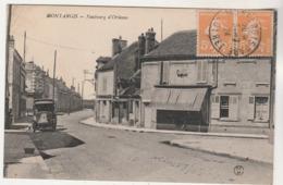 Cpa 45 Montargis Faubourg D'Orléans - Montargis