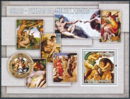 [401494]TB//**/Mnh-Sao Tomé-et-Principe 2004 - Michelangelo Antonioni, Tableau - Peinture - Art - Arte