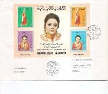 Liban ( Lettre Par Avion  De 1975 De Beyrouth Vers L'Autriche à Voir) - Libanon