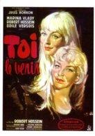 Réf.917/ 1 CPM - Carte Postale Cinéma - Toi Le Venin - Robert Hossein - Affiches Sur Carte