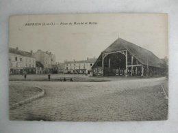 ARPAJON - Place Du Marché Et Halles - Halles