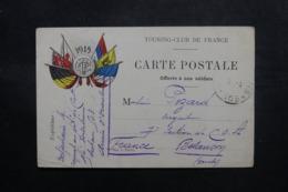 FRANCE - Carte FM Du Secteur Postal 503 Pour Besançon En 1916 - L 47444 - Marcofilie (Brieven)