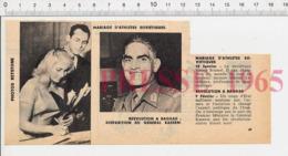 2 Scans Bagdad Irak Disparition Du Général Kassem Mariage De Valéry Brumel Avec Marina Marionova  PF14 - Oude Documenten