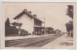 SAINT JUST SAINT RAMBERT SUR LOIRE LA GARE TBE - Saint Just Saint Rambert