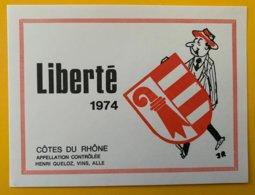 12244 -  Liberté 1974 Jura Suisse - Politica (vecchia E Nuova)