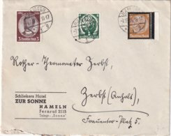 ALLEMAGNE 1934 LETTRE DE HAMMELN - Germany
