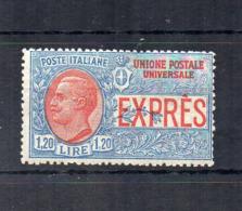 Italia - Regno - 1922 - Espresso Tipo Del 1908 Con Nuovo Valore Da 1,20 Lire - NON EMESSO - Nuovo * - (FDC18418) - 1900-44 Victor Emmanuel III.