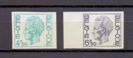 1743/44 Koning Boudewijn Elstrom  Ongetand 1974 Cat:62,50 Euro - Belgium