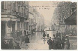 Chalon Sur Saône - Rue De L'Obélisque Innondation 1910 - Chalon Sur Saone