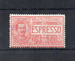 Italia - Regno - 1925/26 - Espresso Da 70 Centesimi - Nuovo ** - (FDC18419) - 1900-44 Victor Emmanuel III.
