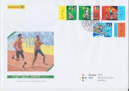 Germany FDC 2015 Handisport Für Den Sport  (L76-1) - Handisport