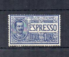 Italia - Regno - 1925/26 - Espresso Da 1,25 Lire - Nuovo ** - (FDC18420) - 1900-44 Victor Emmanuel III.