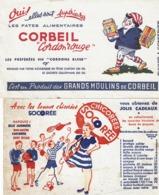 Lot De 5 Buvards (Cadum, Milliat, à L'aigle, Pâtes Et Chicorée) - Buvards, Protège-cahiers Illustrés